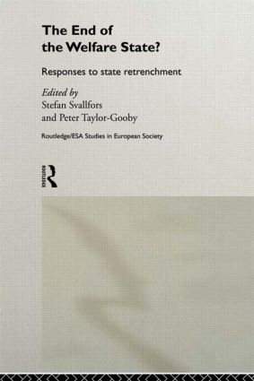 The End of the Welfare State?: Responses to State Retrenchment (Paperback) book cover