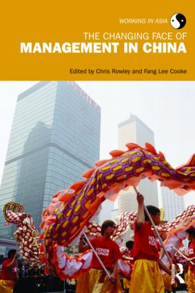 The Changing Face of Management in China book cover