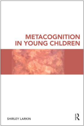 Metacognition in Young Children (Paperback) book cover
