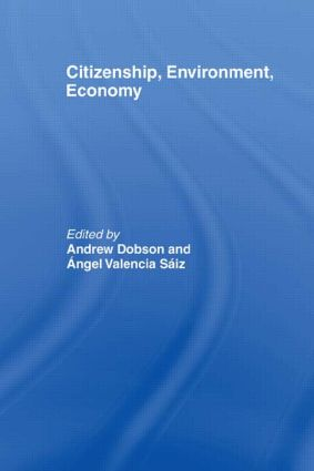 Citizenship, Environment, Economy: 1st Edition (Paperback) book cover