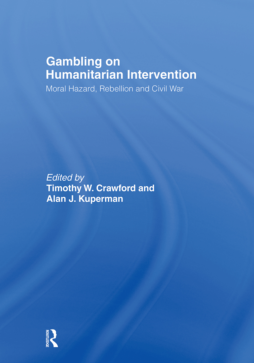 Gambling on Humanitarian Intervention (Hardback) book cover