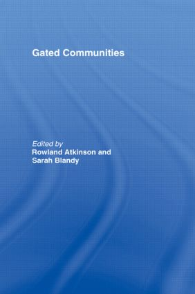 Gated Communities: International Perspectives (Paperback) book cover