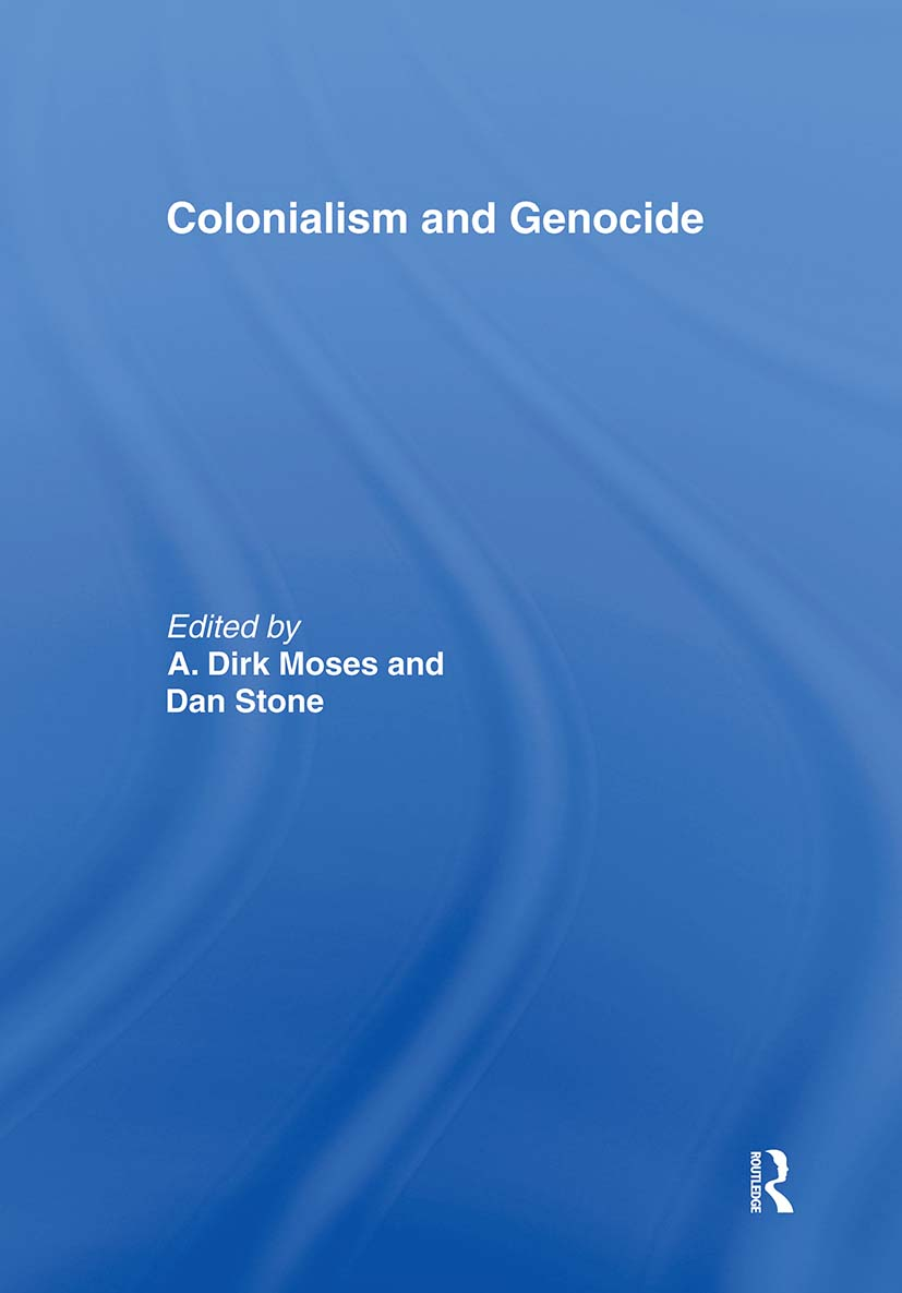 Colonialism and Genocide (Paperback) book cover
