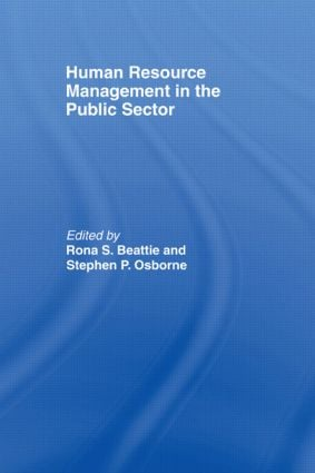 Human Resource Management in the Public Sector: 1st Edition (Paperback) book cover