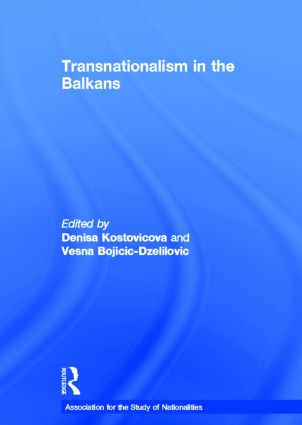 Transnationalism in the Balkans (Hardback) book cover