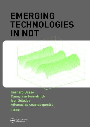 Emerging Technologies in NDT (Hardback) book cover