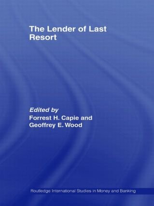 The Lender of Last Resort (Paperback) book cover