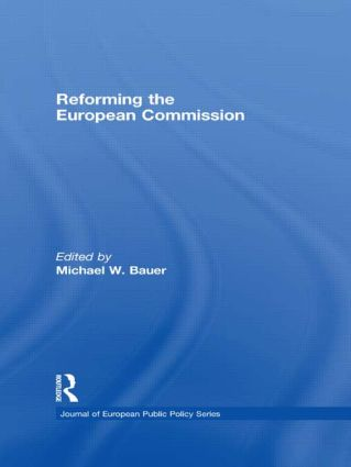Reforming the European Commission (Hardback) book cover