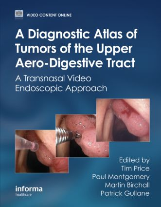 A Diagnostic Atlas of Tumors of the Upper Aero-Digestive Tract: A Transnasal Video Endoscopic Approach (Hardback) book cover