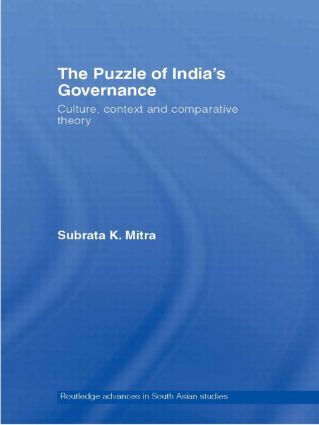 The Puzzle of India's Governance: Culture, Context and Comparative Theory book cover