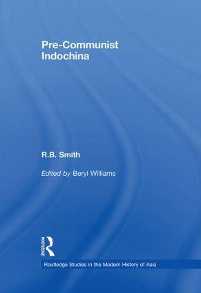 Pre-Communist Indochina book cover