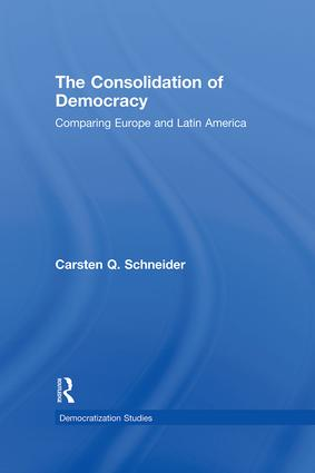 The Consolidation of Democracy: Comparing Europe and Latin America book cover