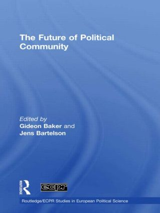 The Future of Political Community (Hardback) book cover