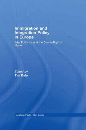 Immigration and Integration Policy in Europe: Why Politics - and the Centre-Right - Matter (Hardback) book cover