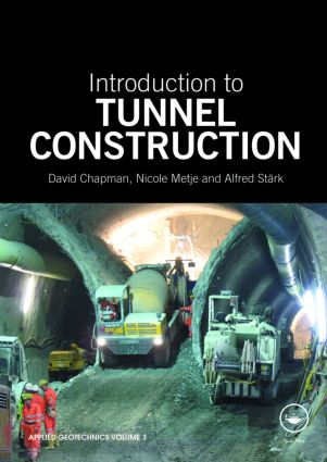 Introduction to Tunnel Construction (Paperback) book cover