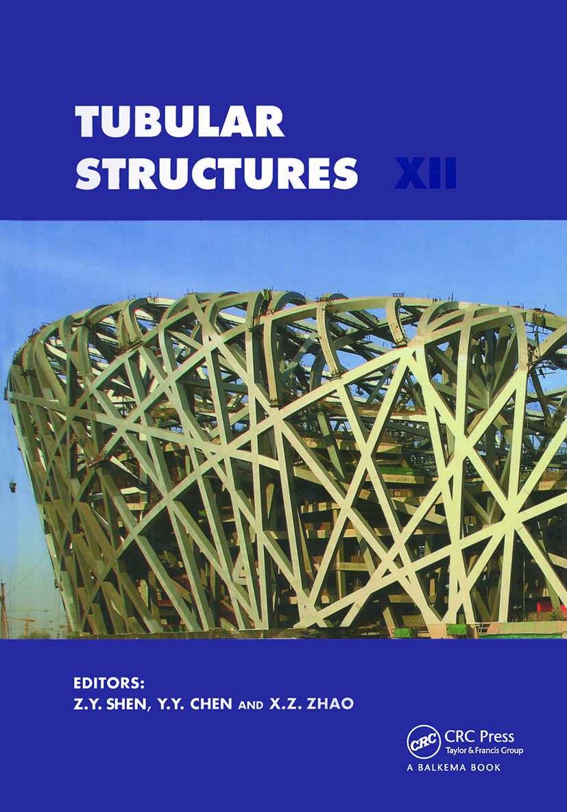 Tubular Structures XII: Proceedings of Tubular Structures XII, Shanghai, China, 8-10 October 2008, 1st Edition (Hardback) book cover