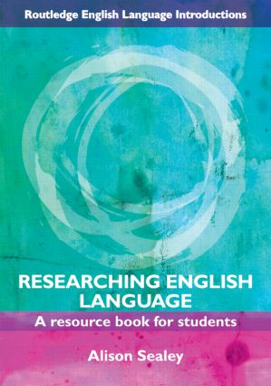 Researching English Language: A Resource Book for Students (Paperback) book cover