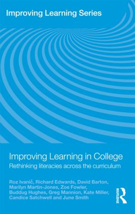 Improving Learning in College: Rethinking Literacies Across the Curriculum (Paperback) book cover
