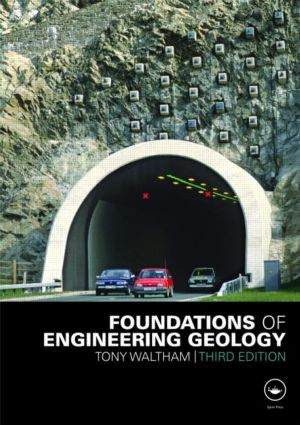Foundations of Engineering Geology, Third Edition: 3rd Edition (Paperback) book cover