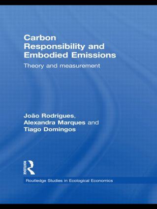 Carbon Responsibility and Embodied Emissions: Theory and Measurement book cover