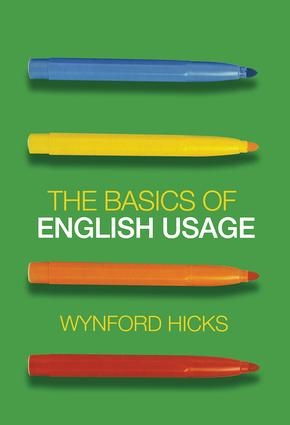 The Basics of English Usage (Paperback) book cover