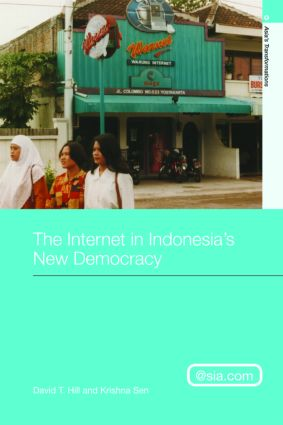 The Internet in Indonesia's New Democracy (Paperback) book cover