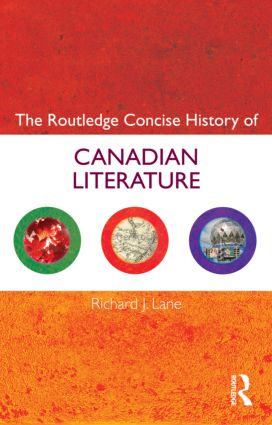 The Routledge Concise History of Canadian Literature (Paperback) book cover
