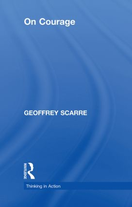 On Courage: 1st Edition (Hardback) book cover