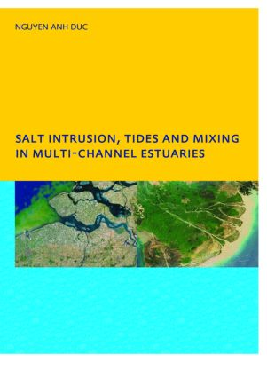 Salt Intrusion, Tides and Mixing in Multi-Channel Estuaries: PhD: UNESCO-IHE Institute, Delft, 1st Edition (Paperback) book cover