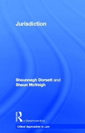 Jurisdiction: 1st Edition (Hardback) book cover