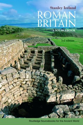 Roman Britain: A Sourcebook, 3rd Edition (Paperback) book cover