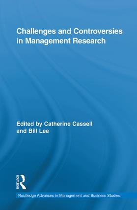 Challenges and Controversies in Management Research: 1st Edition (Hardback) book cover