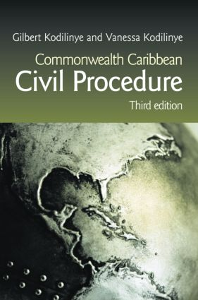 Commonwealth Caribbean Civil Procedure: 3rd Edition (Paperback) book cover