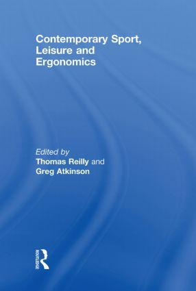 Contemporary Sport, Leisure and Ergonomics book cover