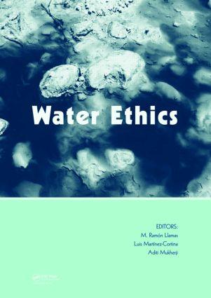 Water Ethics: Marcelino Botin Water Forum 2007, 1st Edition (Hardback) book cover