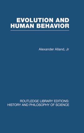 Evolution and Human Behaviour: An Introduction to Darwinian Anthropology (Hardback) book cover