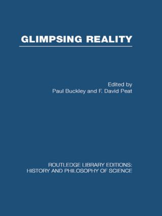 Glimpsing Reality: Ideas in Physics and the Link to Biology (Hardback) book cover