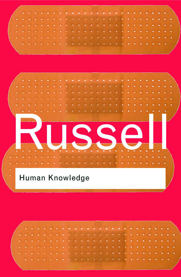 Human Knowledge: Its Scope and Limits (Paperback) book cover