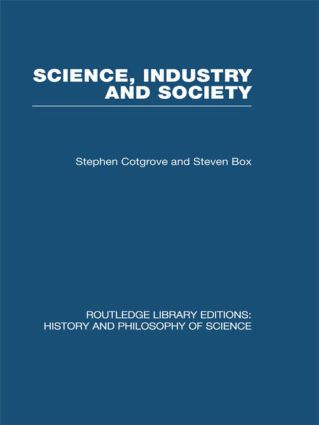 Science Industry and Society: Studies in the Sociology of Science (Hardback) book cover