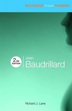 Jean Baudrillard book cover