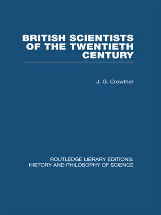 British Scientists of the Twentieth Century (Hardback) book cover