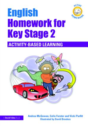 English Homework for Key Stage 2: Activity-Based Learning book cover