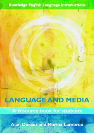 Language and Media: A Resource Book for Students (Paperback) book cover