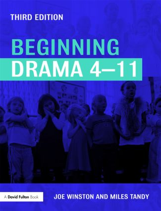 Beginning Drama 4-11: 3rd Edition (Paperback) book cover