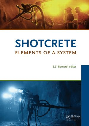 Shotcrete: Elements of a System: 1st Edition (Paperback) book cover