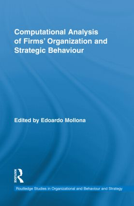 Computational Analysis of Firms' Organization and Strategic Behaviour (Hardback) book cover