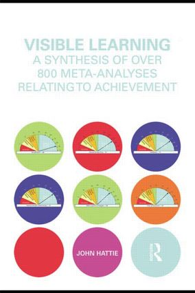 Visible Learning: A Synthesis of Over 800 Meta-Analyses Relating to Achievement (Hardback) book cover