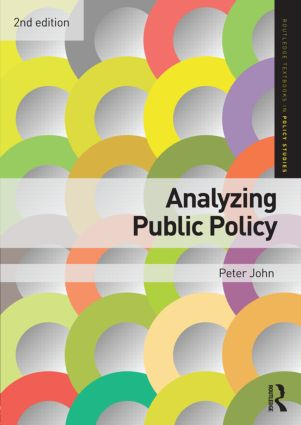 Analyzing Public Policy: 2nd Edition (Paperback) book cover