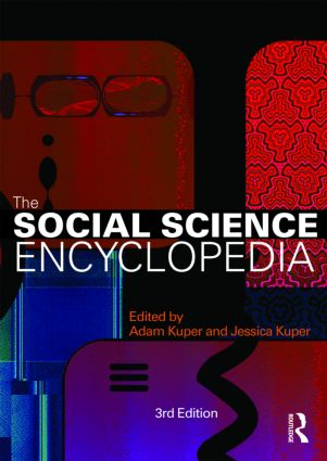 The Social Science Encyclopedia: 3rd Edition (Paperback) book cover