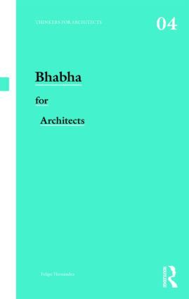 Bhabha for Architects (Paperback) book cover
